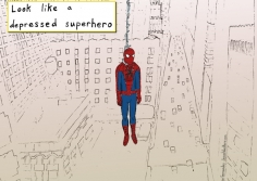depressed-spiderman
