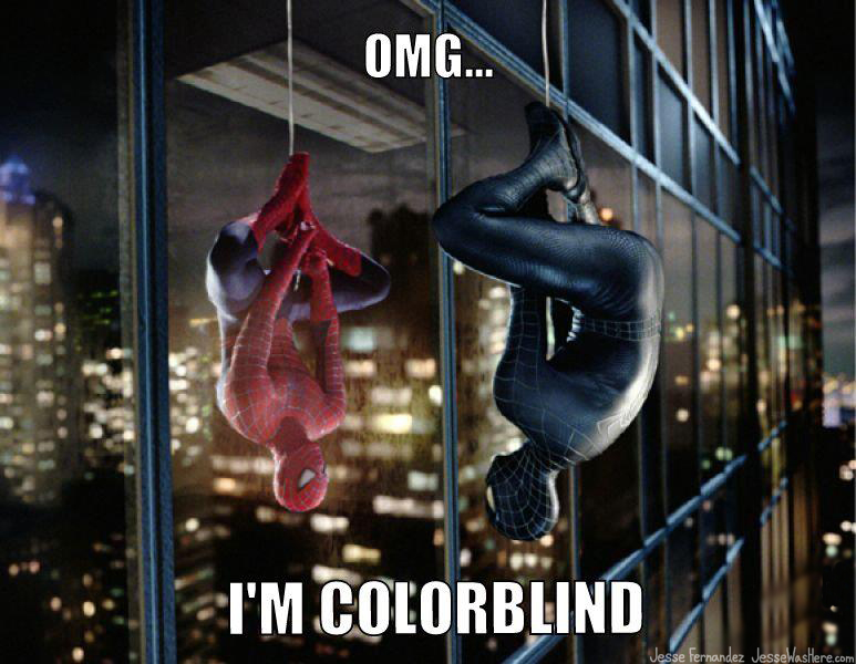 spiderman-coloblind