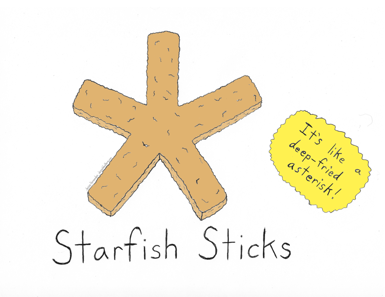 starfish-sticks
